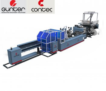 ماشین آلات دوخت و تولید کیسه های پلاستیکی GUNTER CONTEC